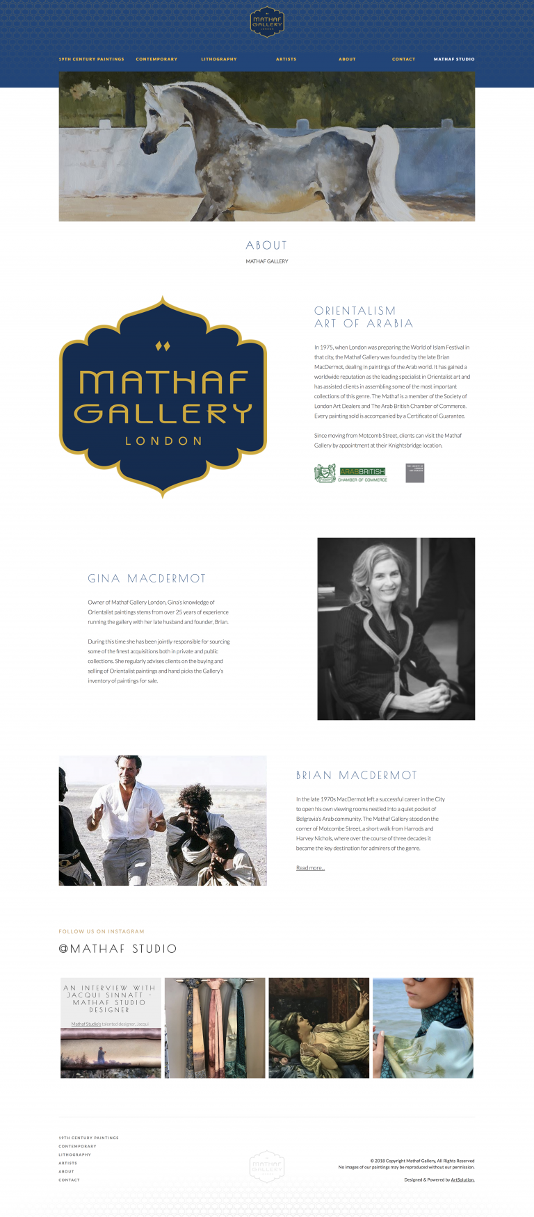 The Mathaf Gallery